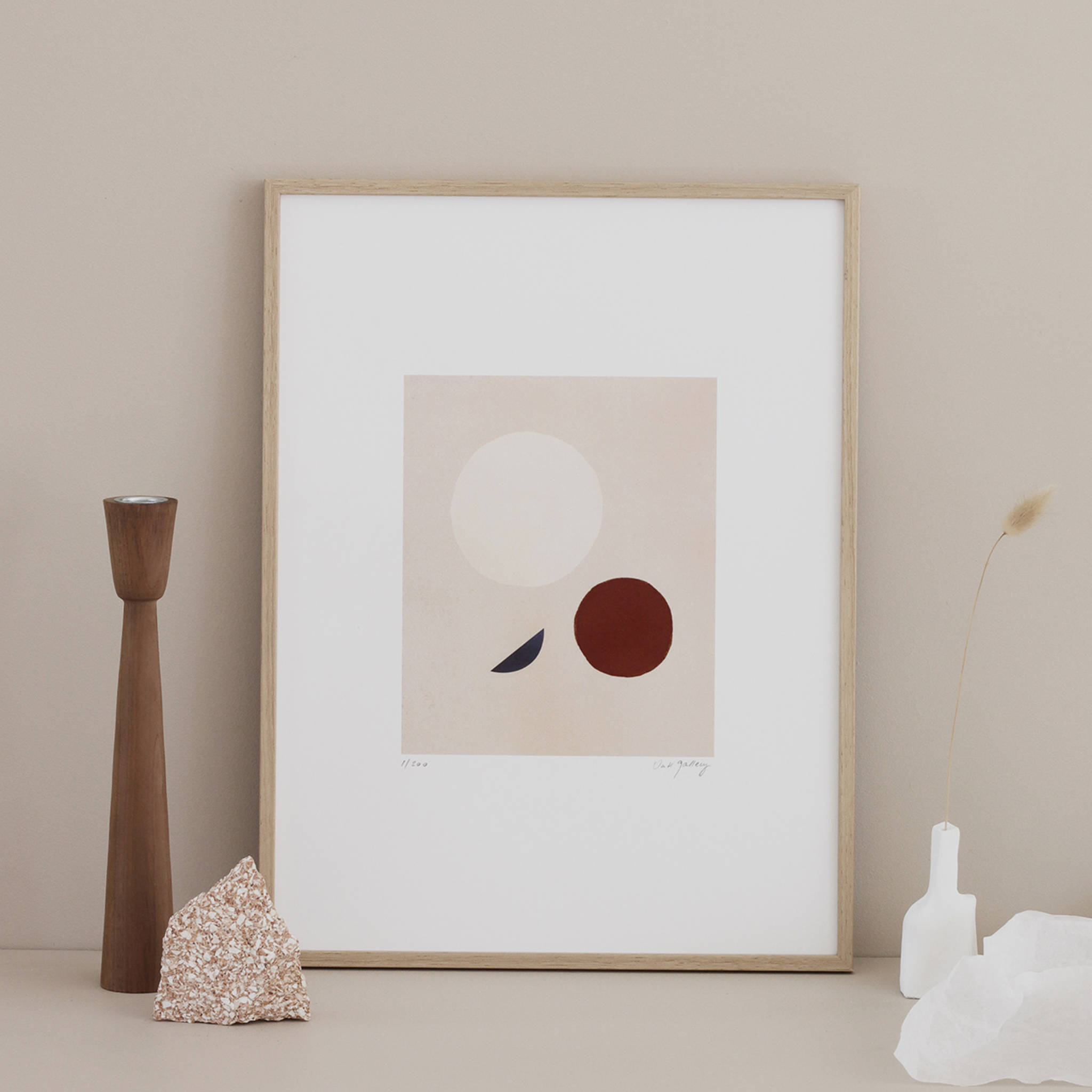 Oak Gallery Moons Print