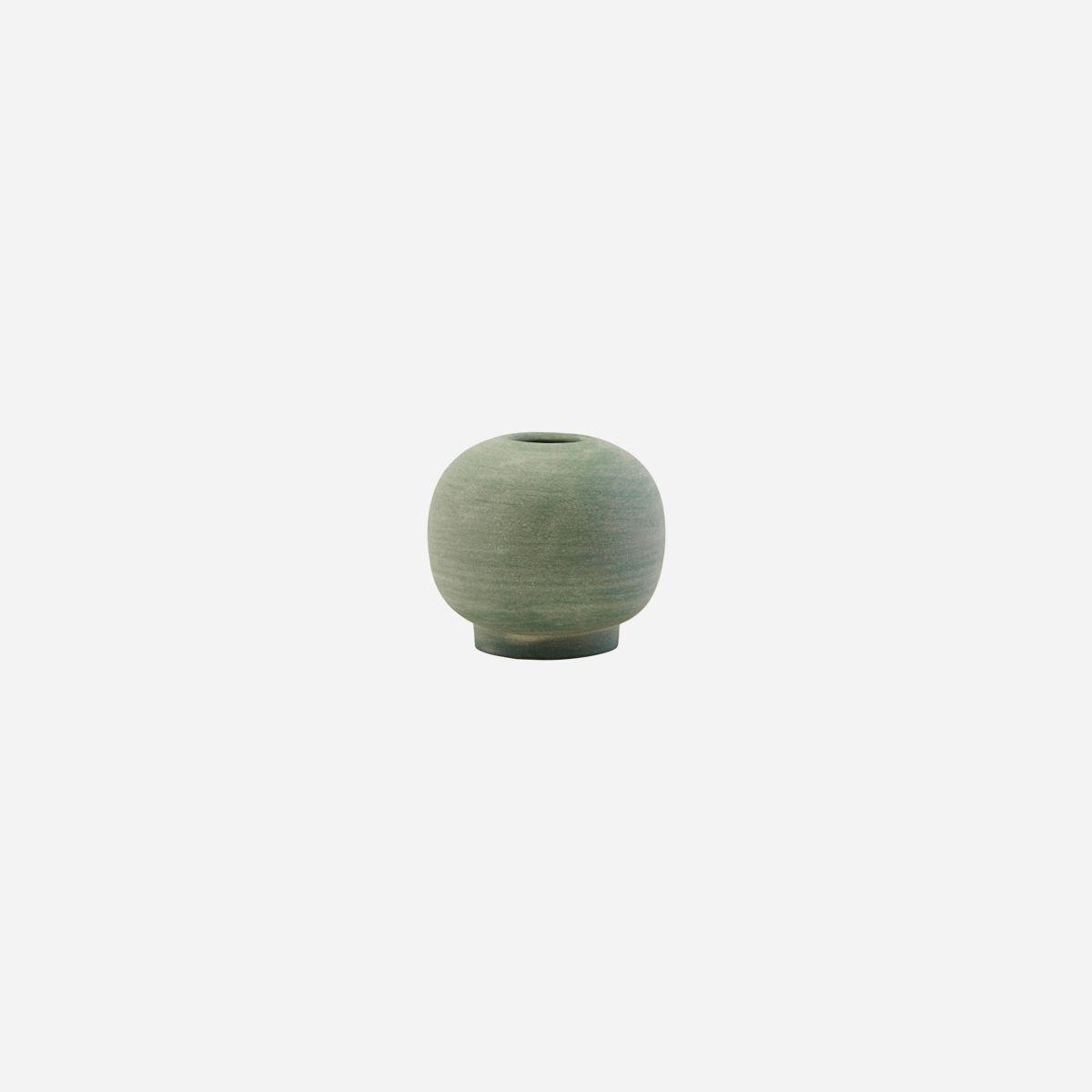 House Doctor Mini Bobbles Vase- Dusty Green