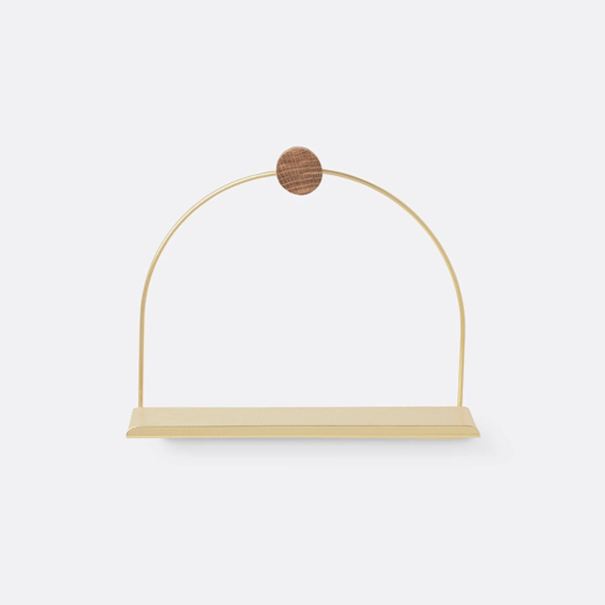 Ferm Living Bathroom Shelf- Brass