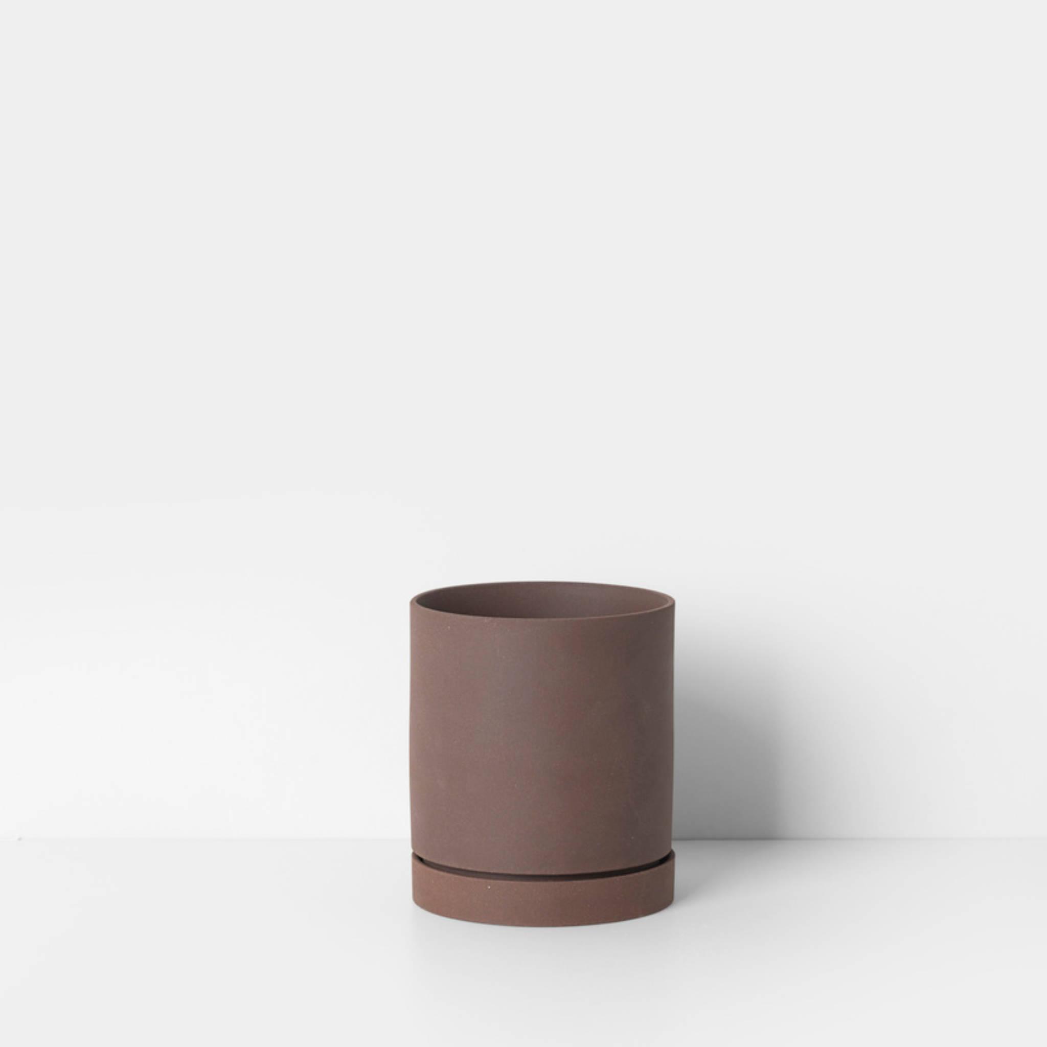 Ferm Living Sekki Pot- Rust
