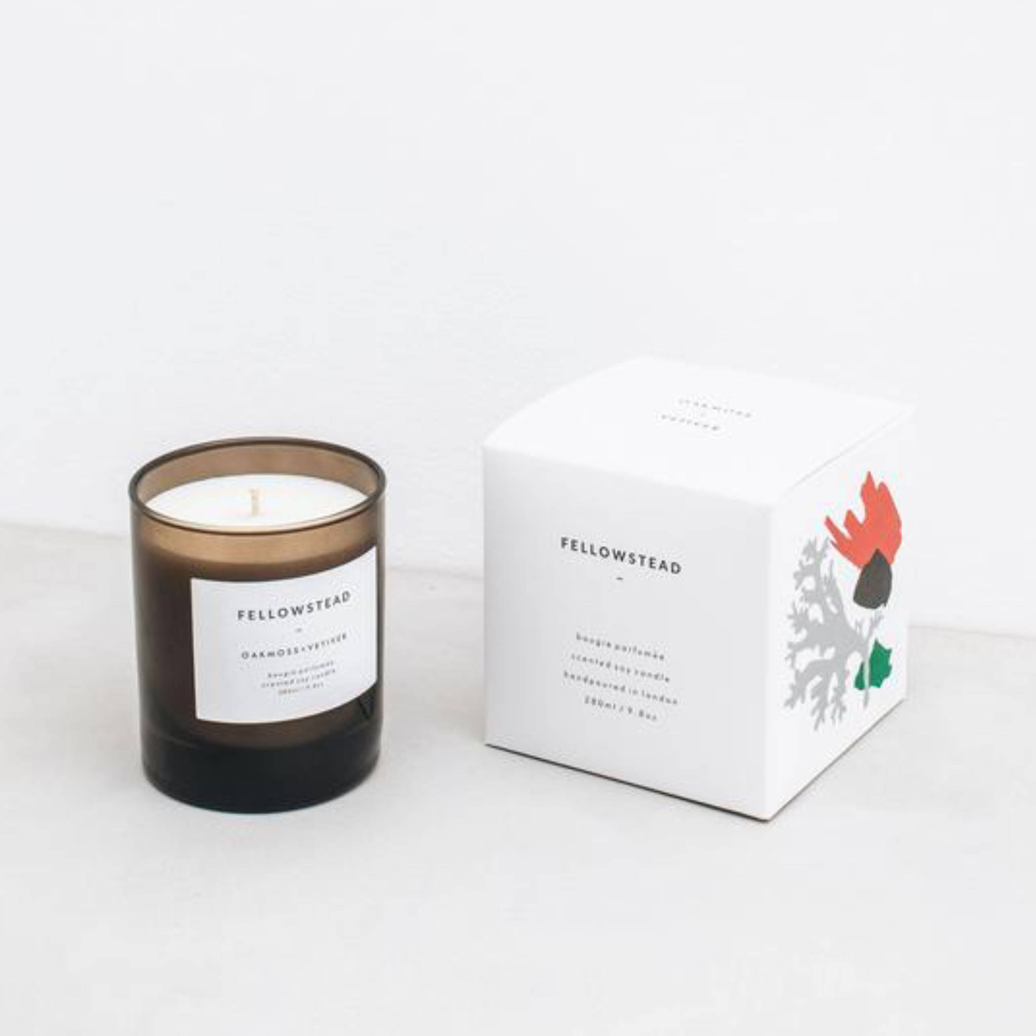 Fellowstead Soy Candle- Oakmoss & Vetiver