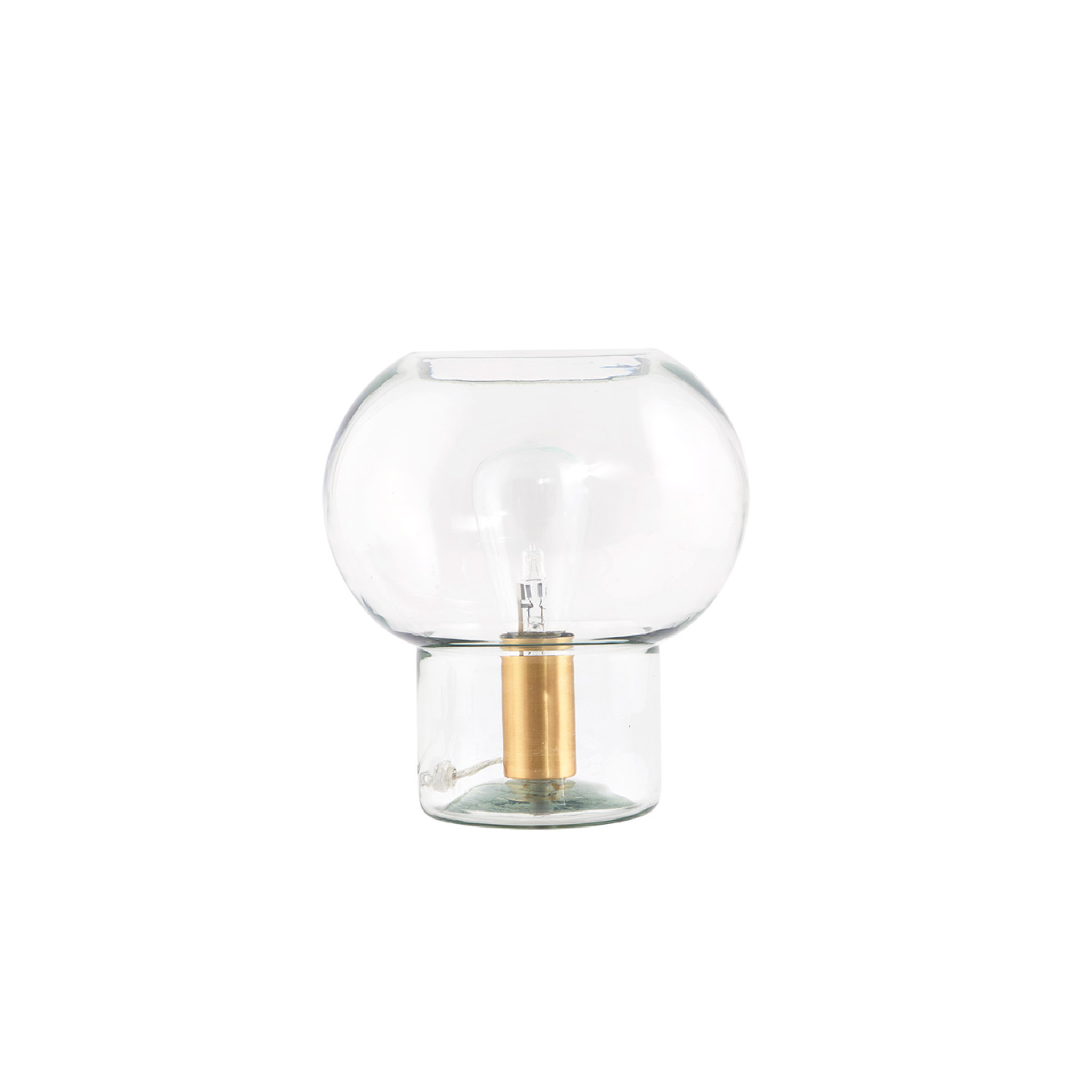 House Doctor Glass Lamp