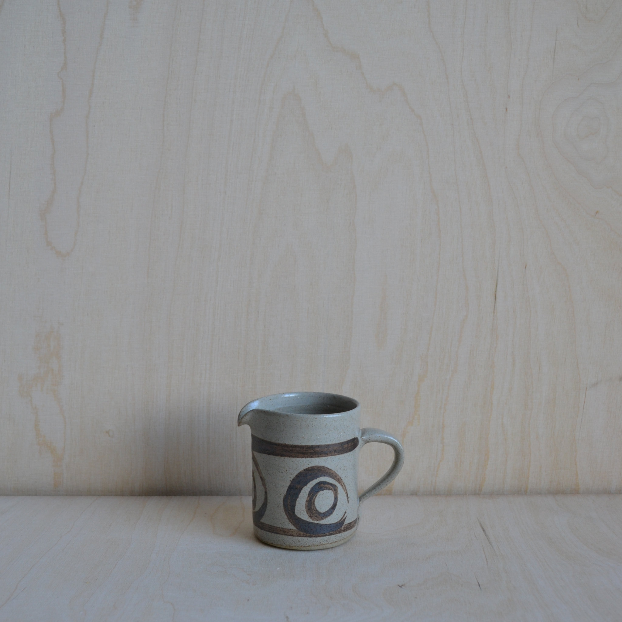 Vintage Stoneware Milk Jug