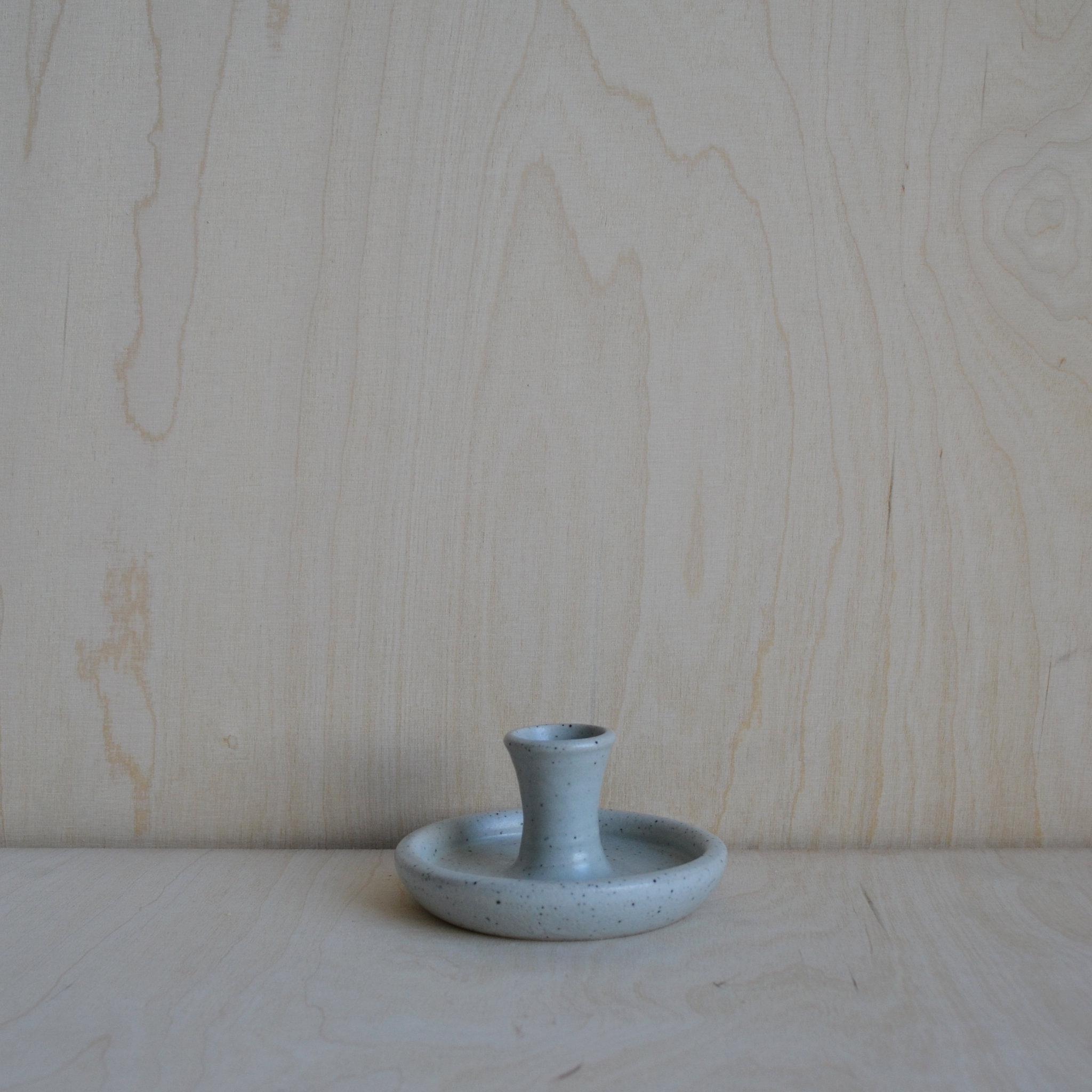 Speckled Candle Holder
