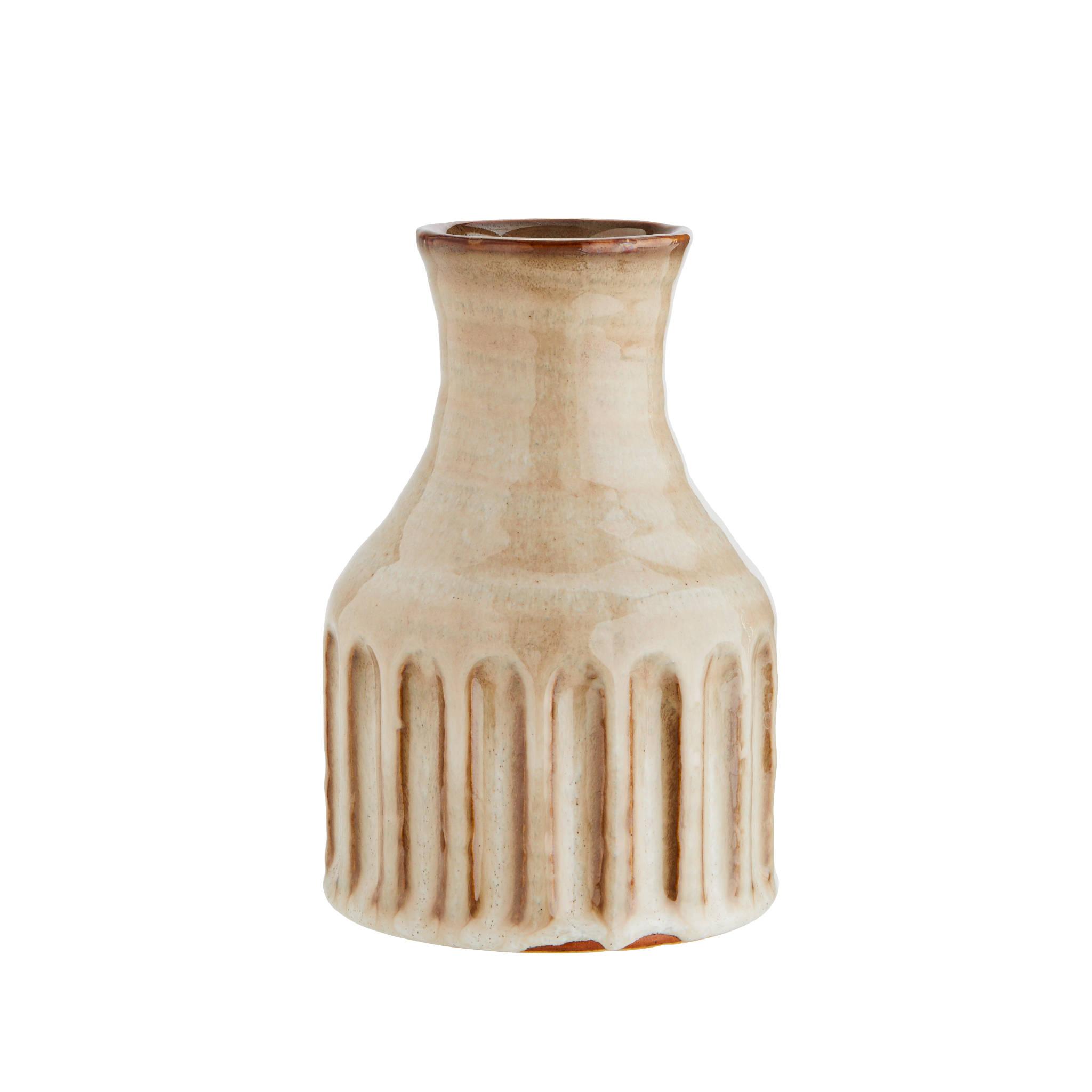 Madam Stoltz- Striped Vase