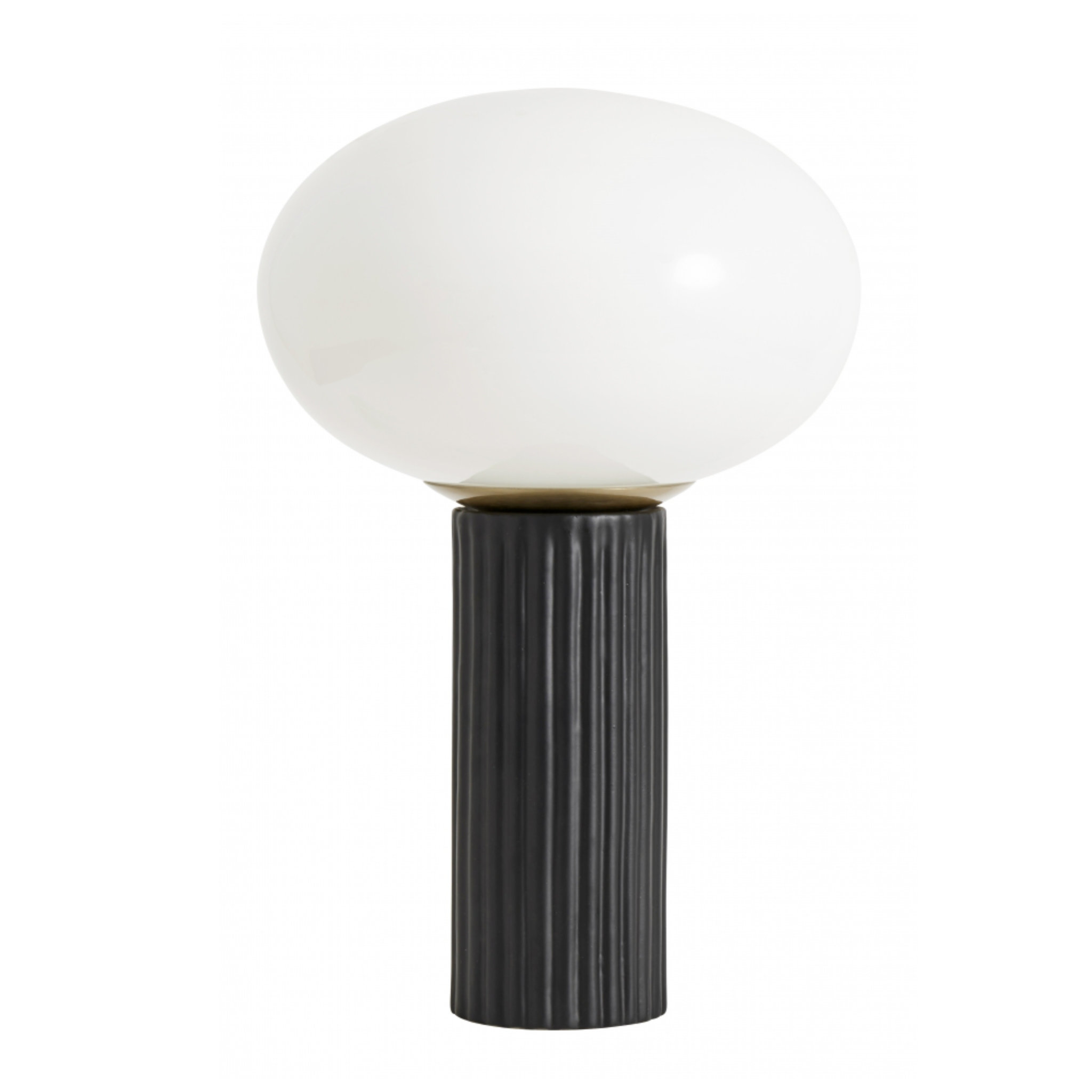 Nordal Opal Glass Table Lamp