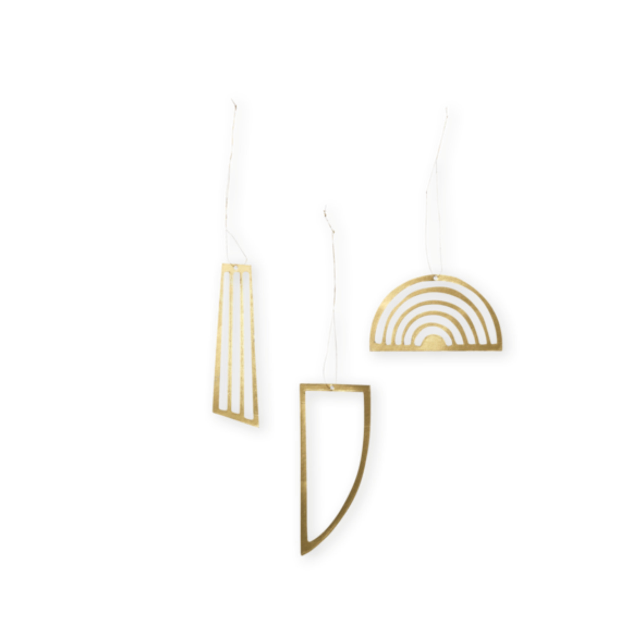 Ferm Living Golden Ornaments