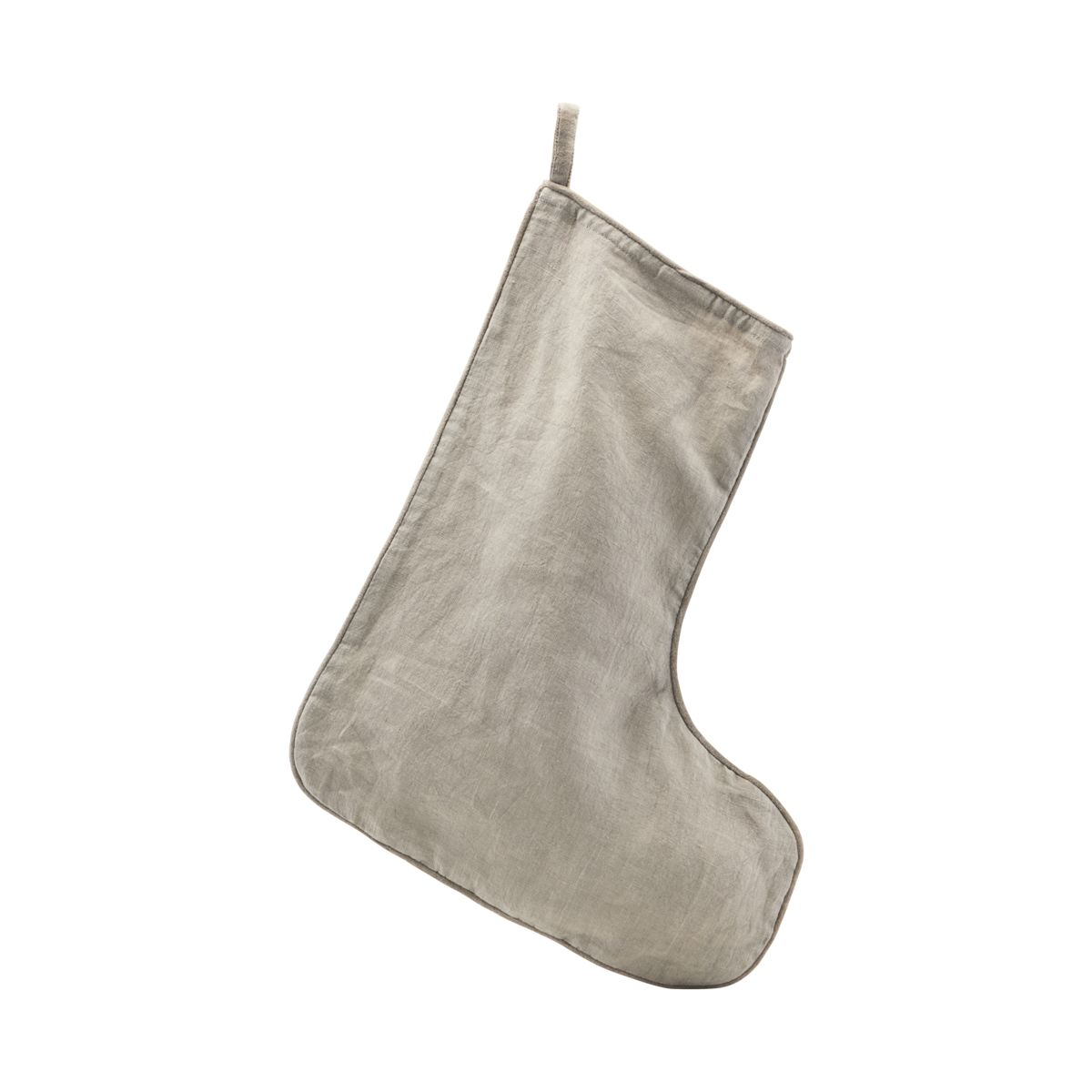 Christmas Stocking- Grey