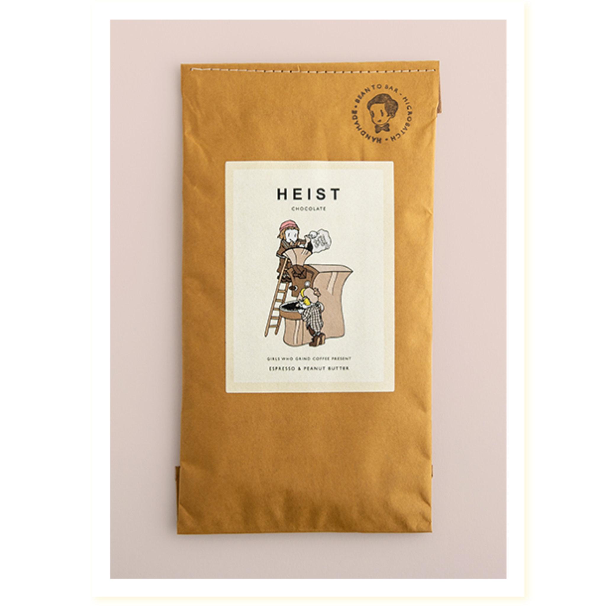 Heist Chocolate- Espresso & Peanut Butter