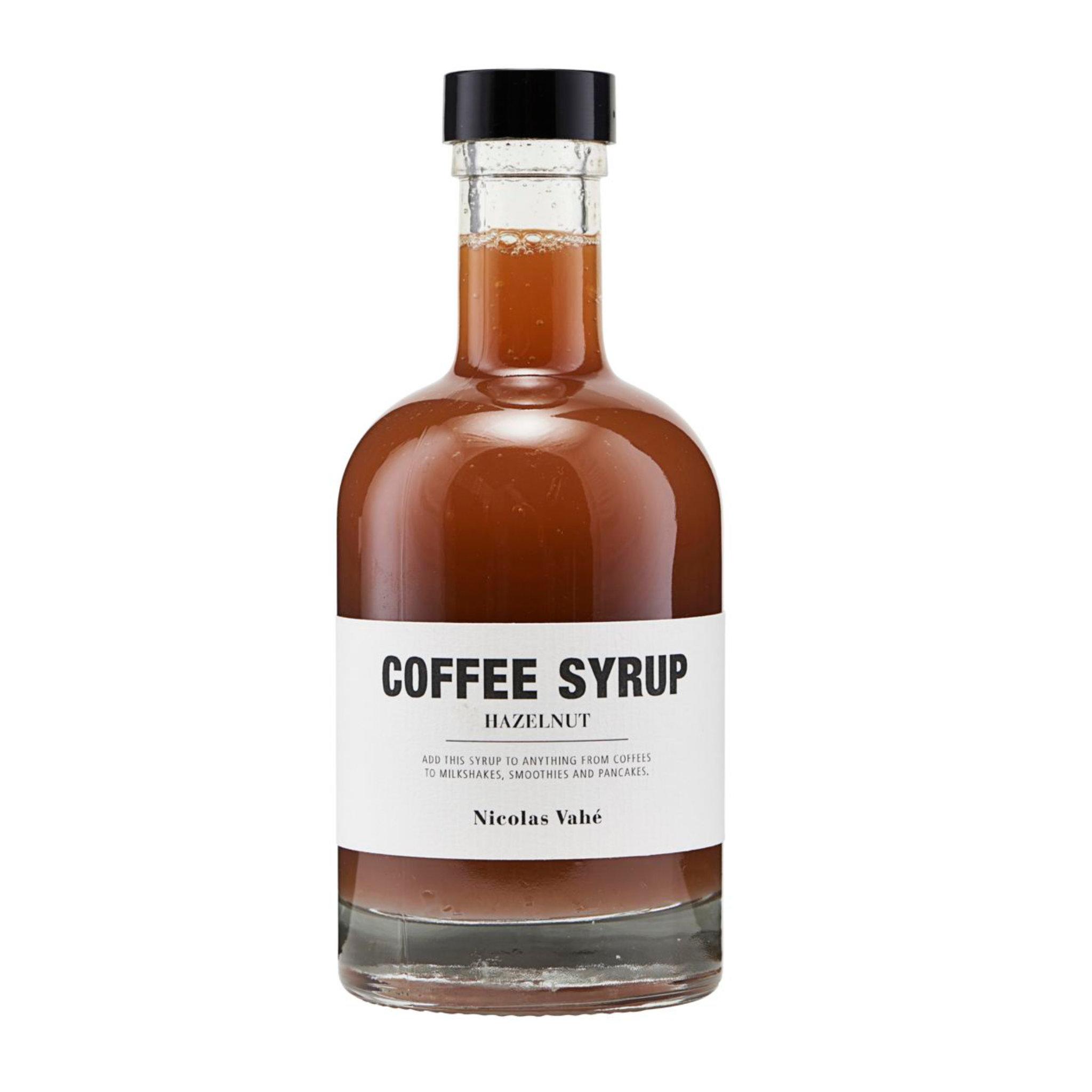 Nicolas Vahé Coffee Syrup- Hazlenut