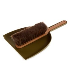 Dustpan & Brush Set- Green