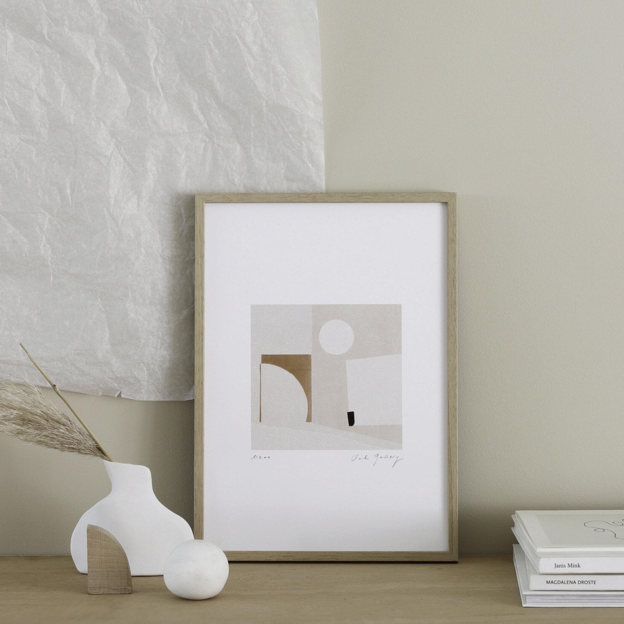 Oak Gallery Arch Print