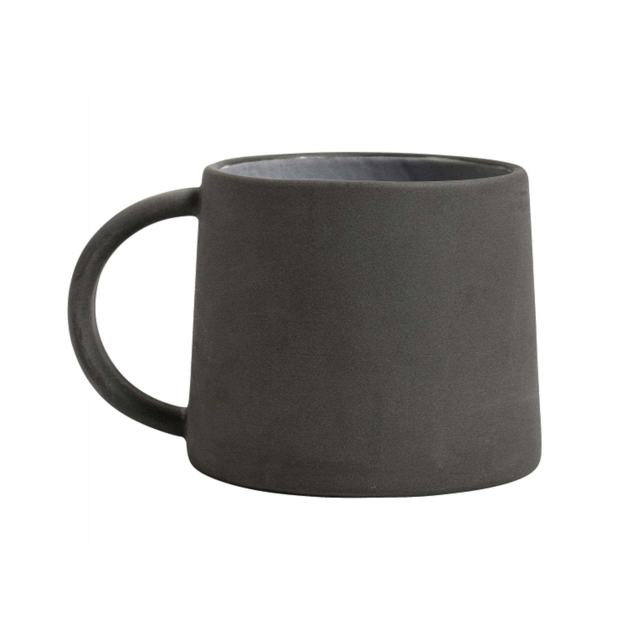 Nordal Stoneware Mug- Black