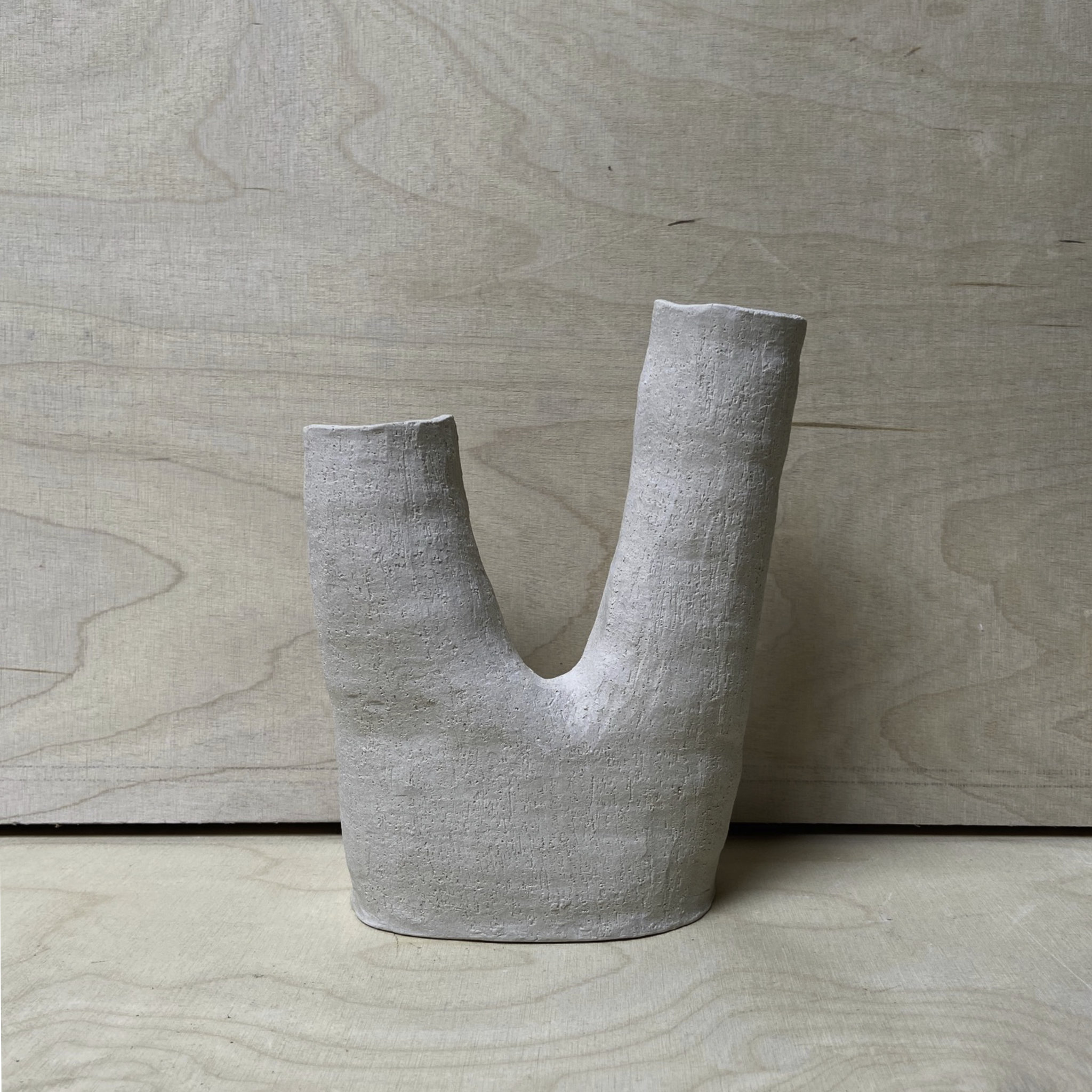 Anne Marie Peters Raw Vase Double