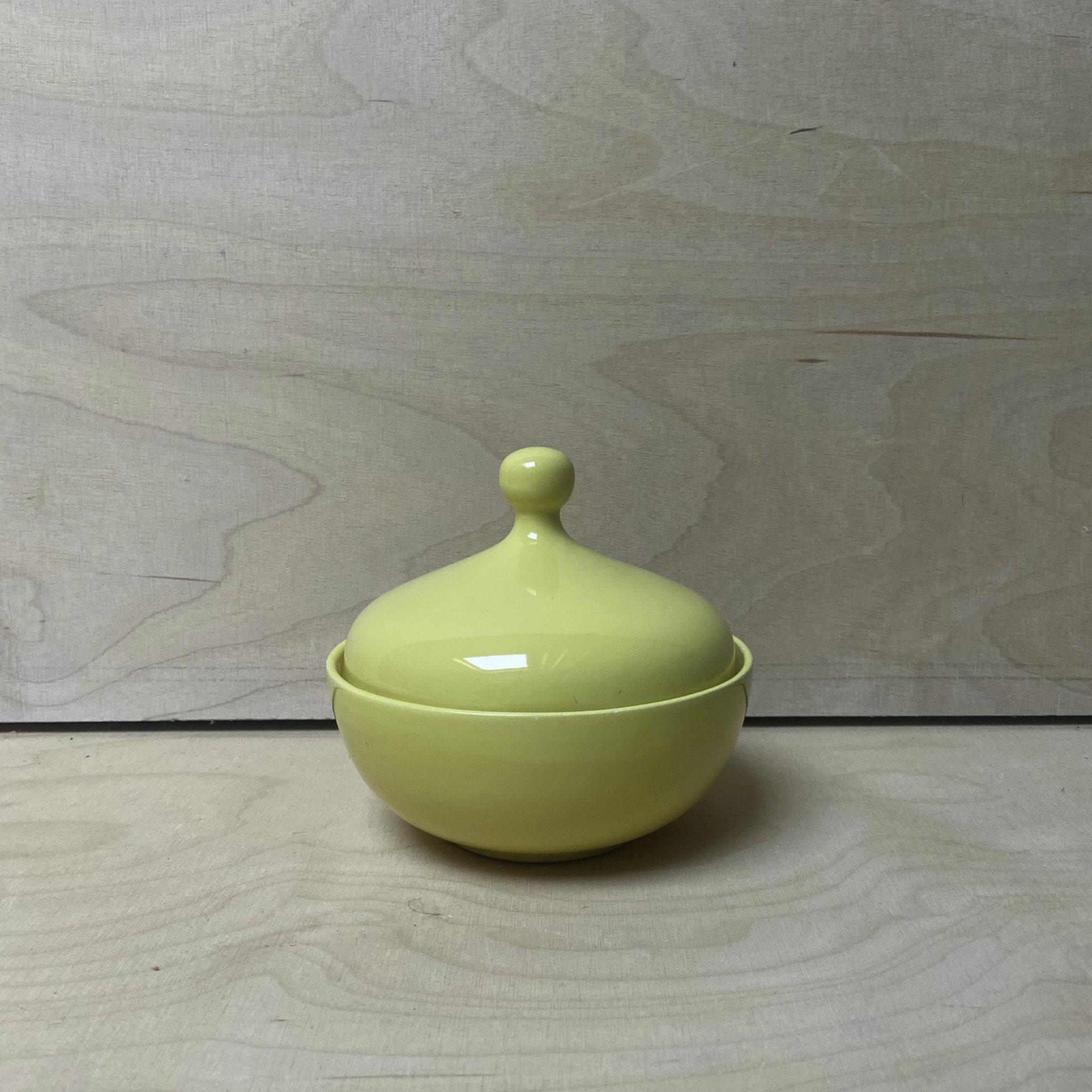 Vintage Ceramic Pot With Lid