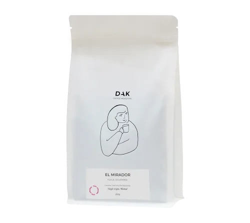 Dak Coffee Roasters- El Mirador Colombia