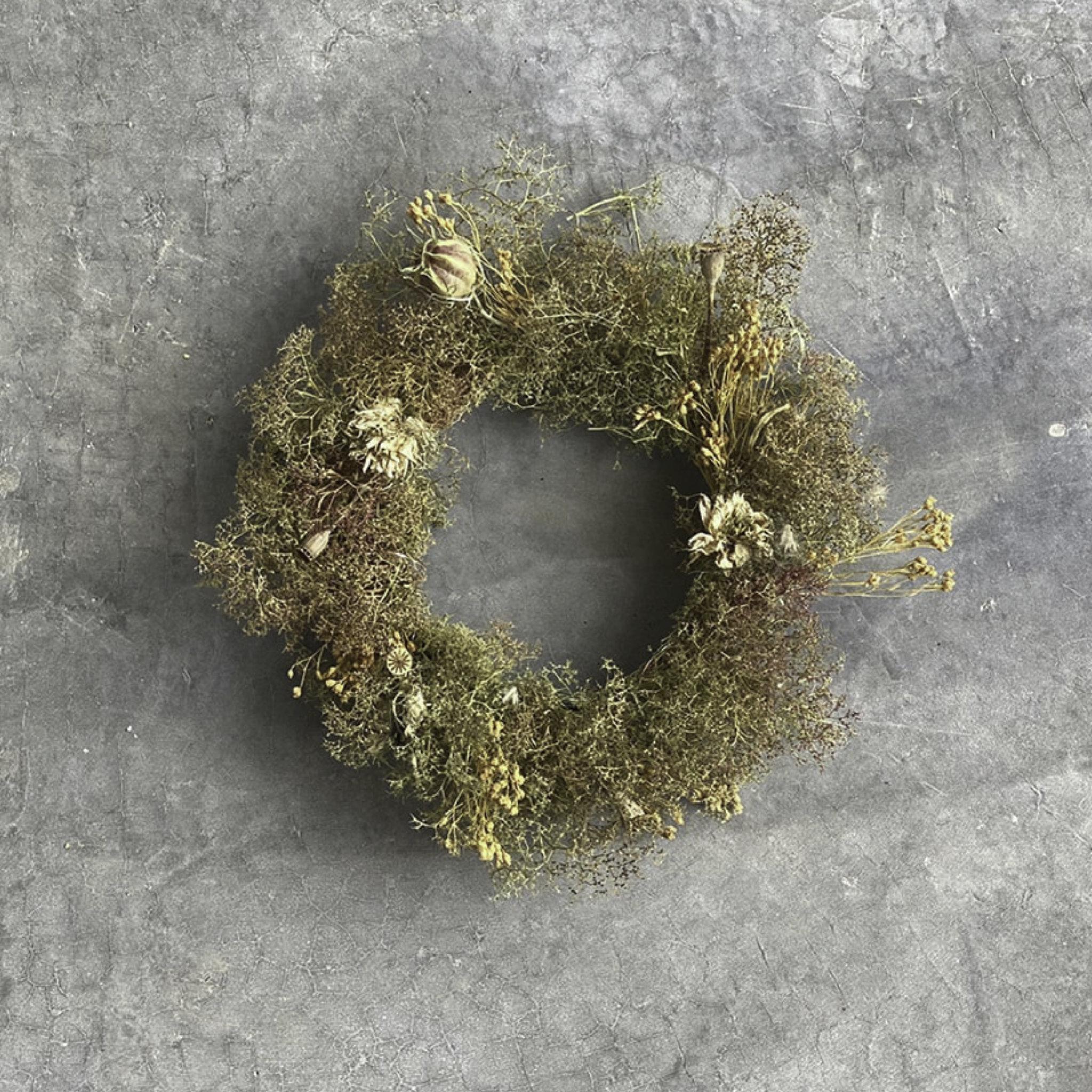 Seamoss Mini Wreath