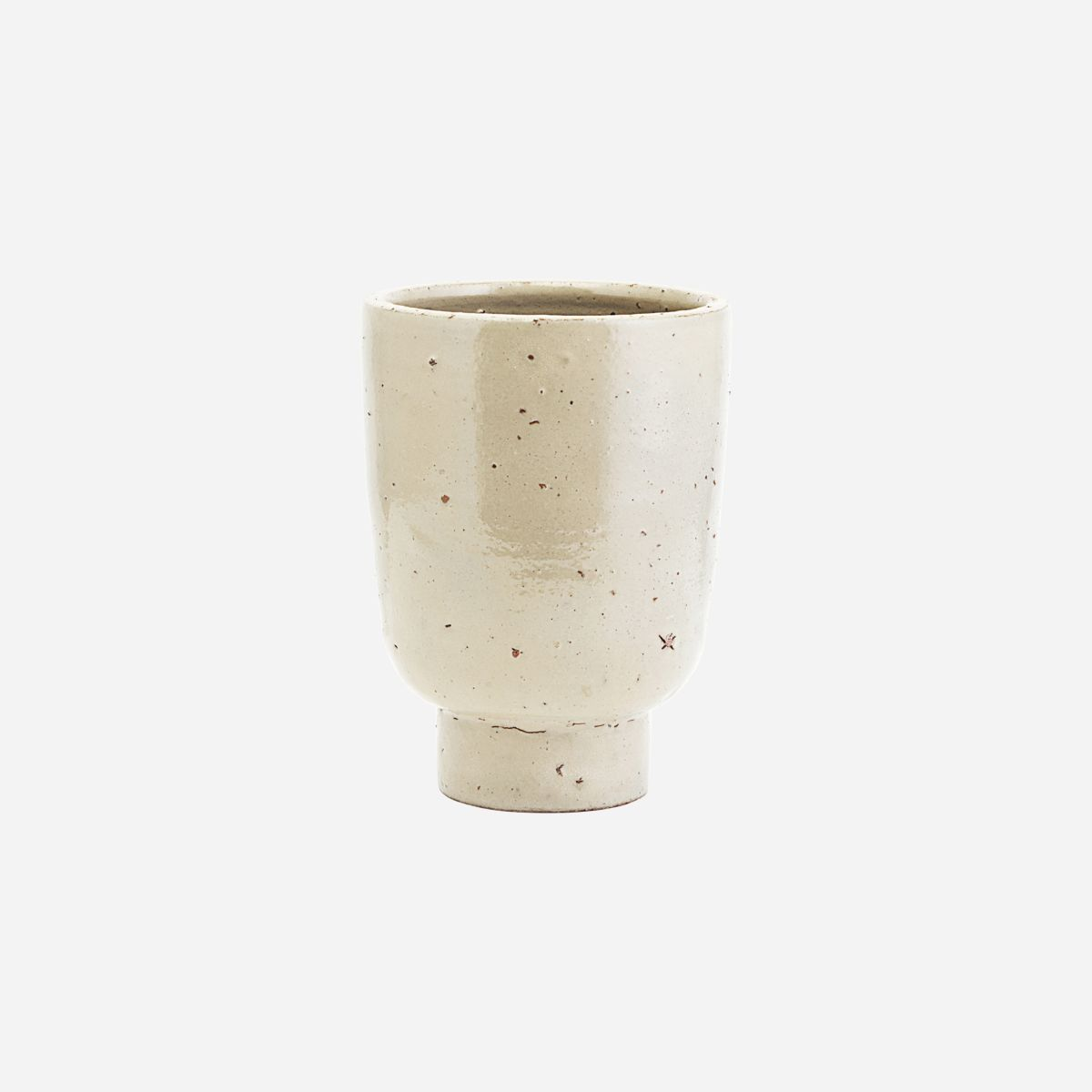 House Doctor Artist Planter- Beige- Small