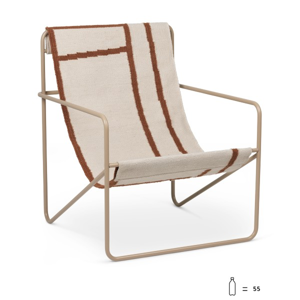 Ferm Living Desert Chair- Cashmere Shape