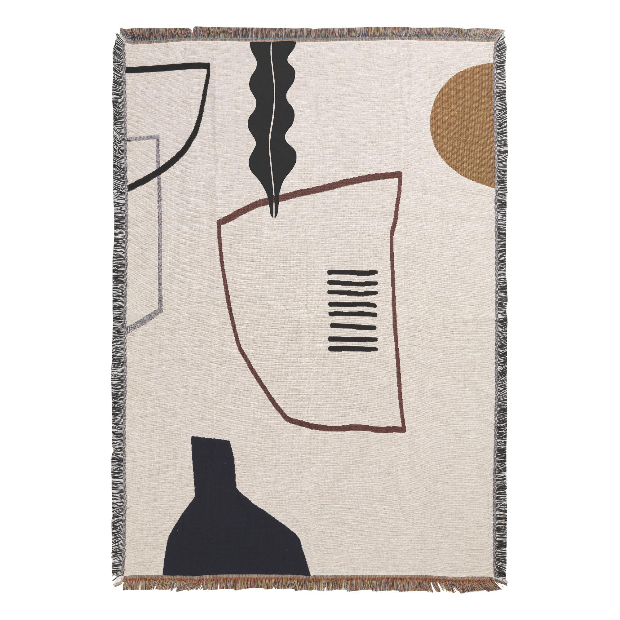 Ferm Living Mirage Blanket- Off White