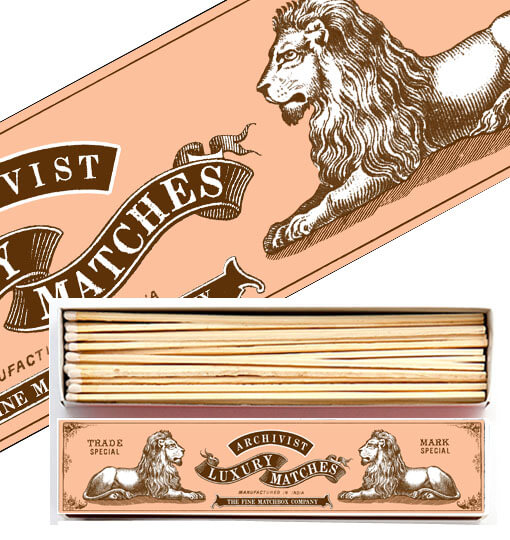 Archivist Large Matches- Lions
