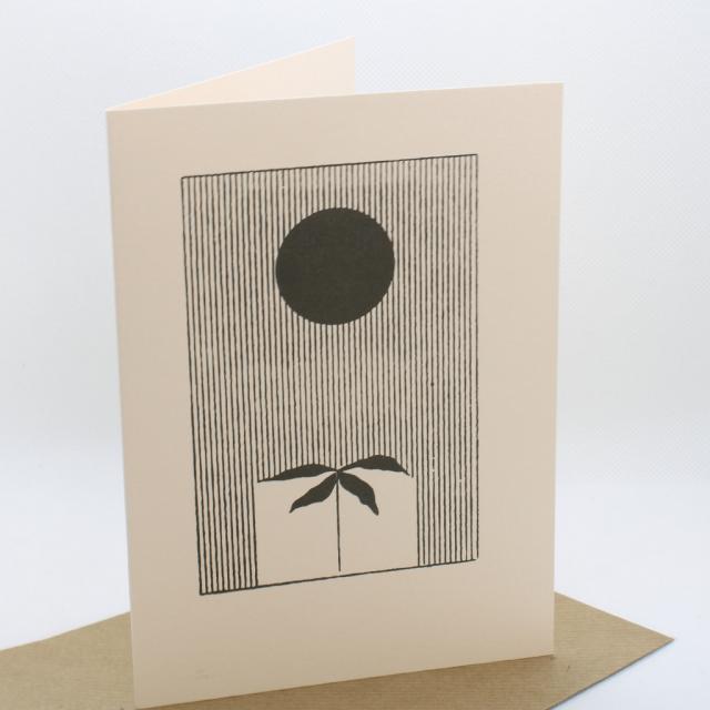 Archivist Greeting Card- Rain
