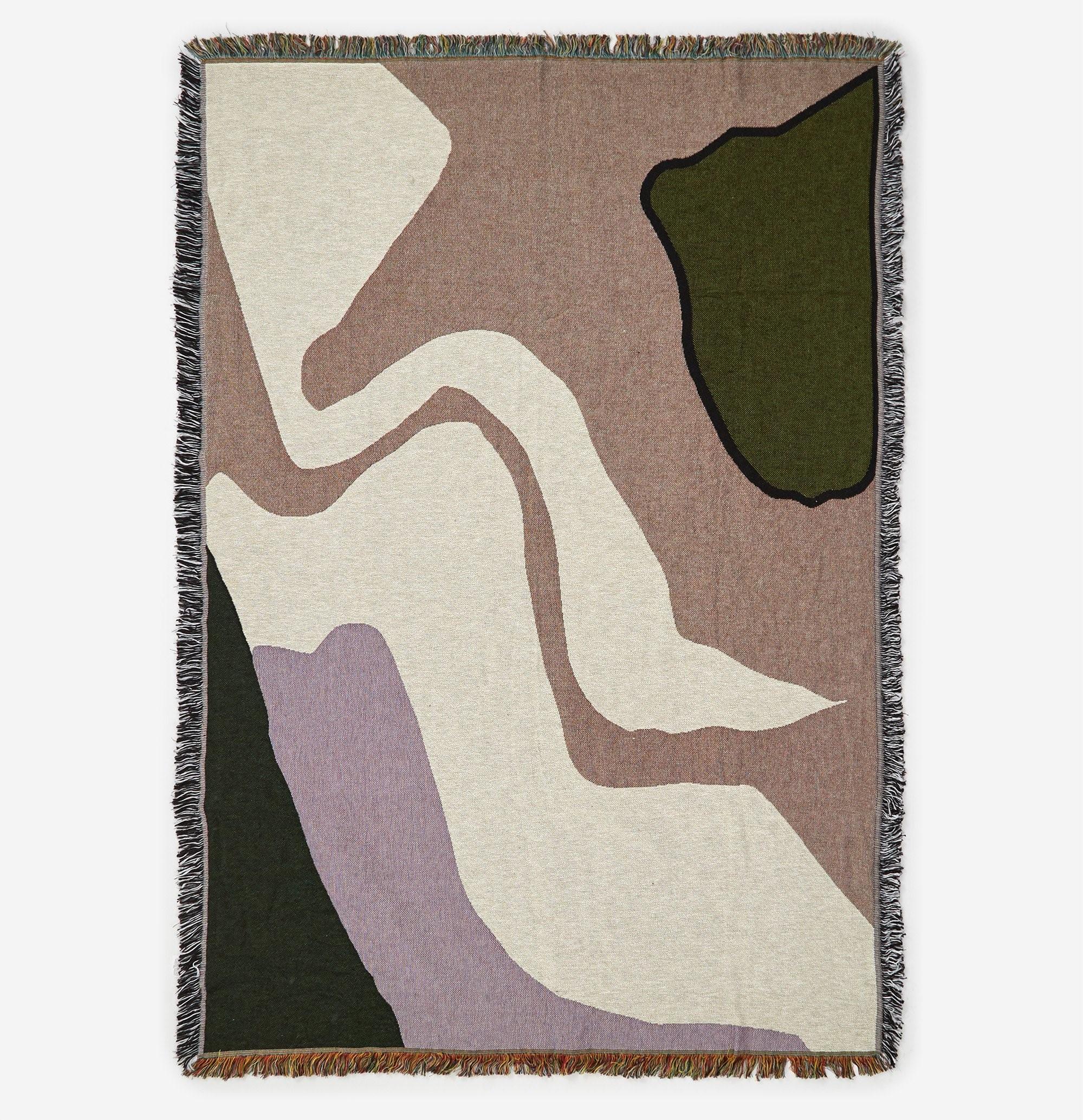 Ferm Living Vista Blanket- Lilac