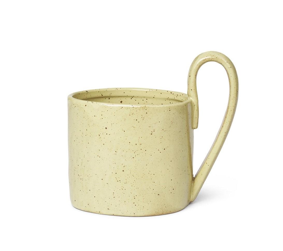 Ferm Living Flow Mug- Yellow